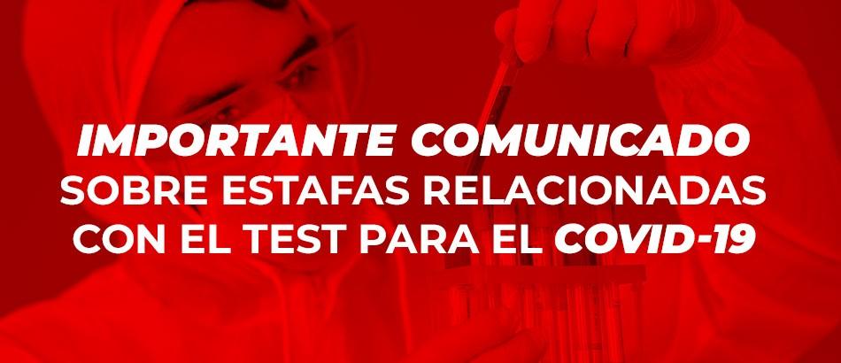 Fraude COVID-19 Cima Salud - junio 2020